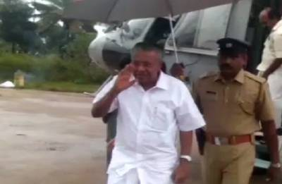 Kerala CM Pinarayi Vijayan makes personal contribution of Rs one lakh for relief