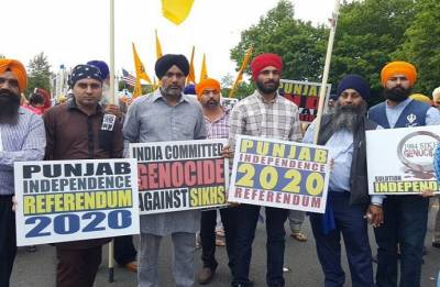 Referendum 2020: Pro-Khalistan rally complete failure,'ISI funded' campaign, says SAD leader