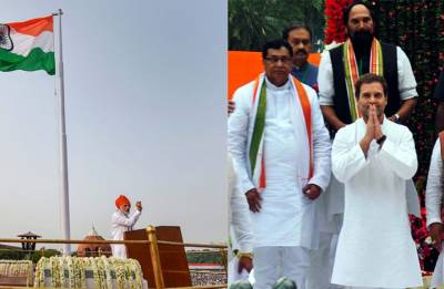 From Rahul Gandhi to Arvind Kejriwal - Here is how political leaders celebrated Independence Day 2018