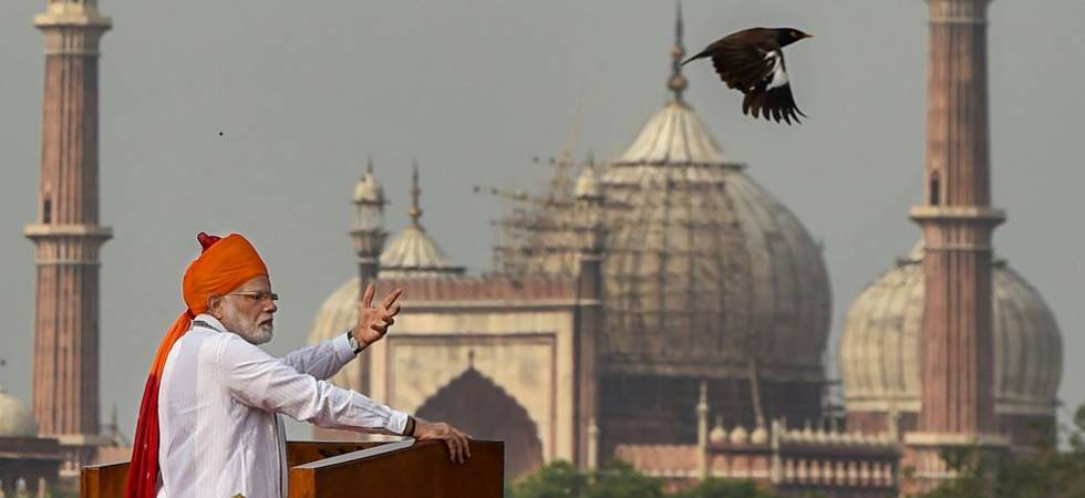 PM Modi hails all-women crew of INSV Tarini for circumnavigating the globe (Photo- PTI)