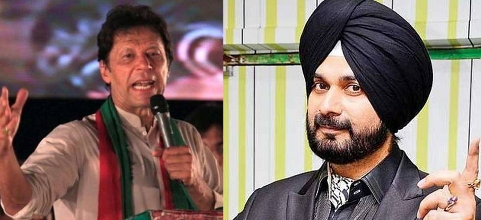 Sidhu arrives in Pakistan to attend Khan's oath taking ceremony (File Photo)