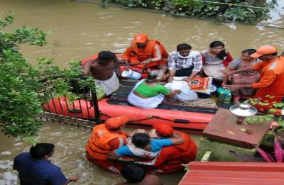 Gujarat announces Rs 10 crore assistance for flood-hit Kerala