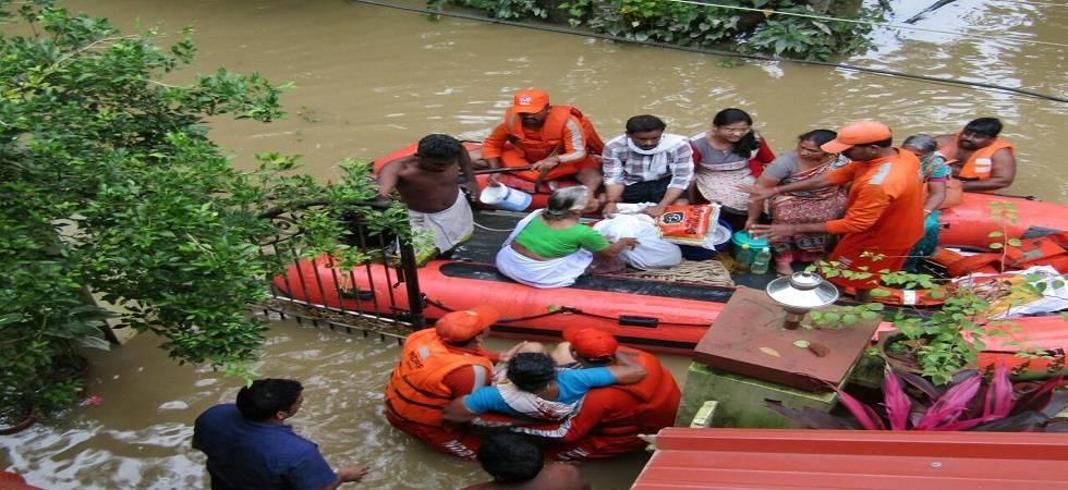 Gujarat announces Rs 10 crore assistance for flood-hit Kerala (Photo- Twitter/ANI)
