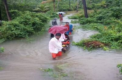 Kerala floods: Environmentalist Gadgil says it is also a man-made disaster