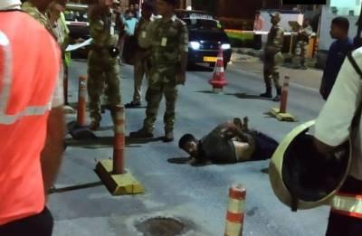 New Delhi: Drunk man 'hijacks' taxi to enter Indira Gandhi International Airport