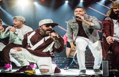 Fourteen injured after structure collapses at Backstreet Boys concert venue in Oklahoma