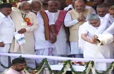 Atal Bihari Vajpayee's ashes immersed in Haridwar's Har Ki Pauri Ghat