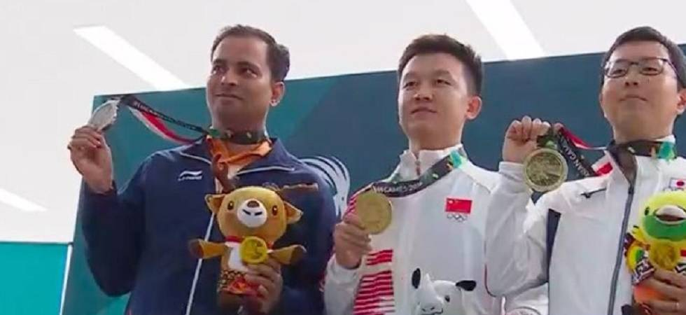Asian Games 2018: Sanjeev Rajput wins silver in men's 50m Rifle 3 Positions (Twitter)