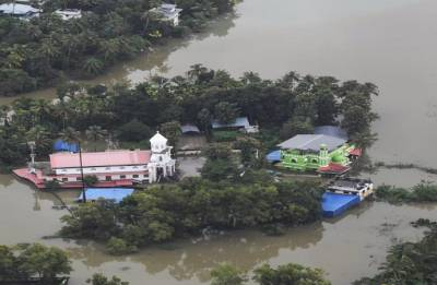 Mosque offers shelter to Hindus in rain-hit Kerala