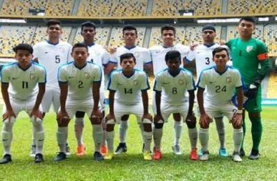India U-16 football team beat Cameroon U-16 in friendly match