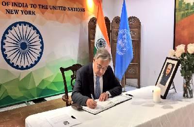UN chief fondly recalls association with Vajpayee