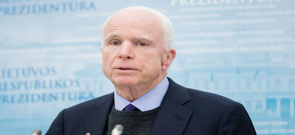 US Senator John McCain lost his battle with glioblastoma - an aggressive form of brain cancer (Photo: Twitter)