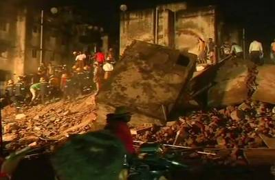 Ahmedabad: Four-storey building collapses in Odhav area; one dead, 4 rescued
