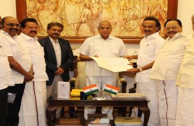 Rahul Gandhi, Mamata Banerjee congratulate new Dravida Munnetra Kazhagam president MK Stalin