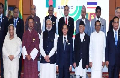 Modi meets Nepal PM KP Sharma Oli as 4th BIMSTEC Summit concludes in Kathmandu