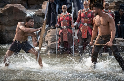 Chadwick Boseman says 'Black Panther' will compete for Best Picture Oscar, not Popular Picture
