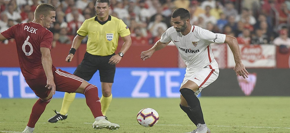 Sevilla on the way for 6th Europa League title (Photo: Twitter)