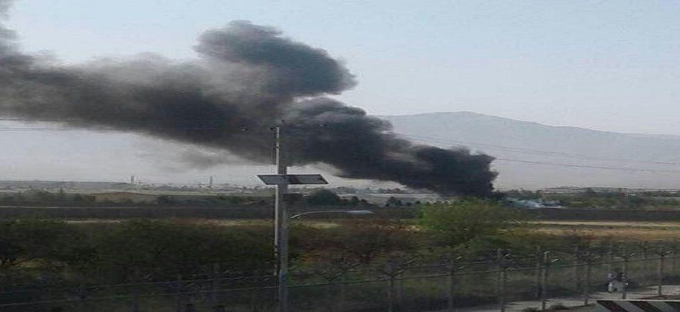 Helicopter crash kills 12 in Afghanistan (Photo- Twitter/@Imwaheedfaizi)