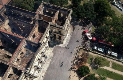 Citizens blames authority over Brazil museum inferno, says 'lack of attention'
