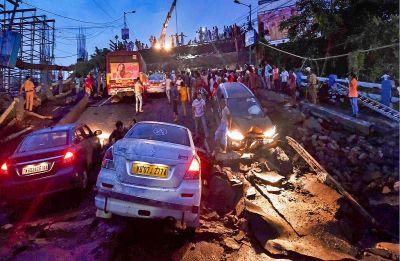 Majerhat bridge collapse: Suo-motu case registered at Alipore police station