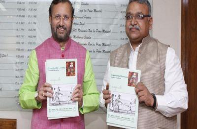 Prakash Javadekar releases book on Mahatma Gandhi's 'Nai Talim'