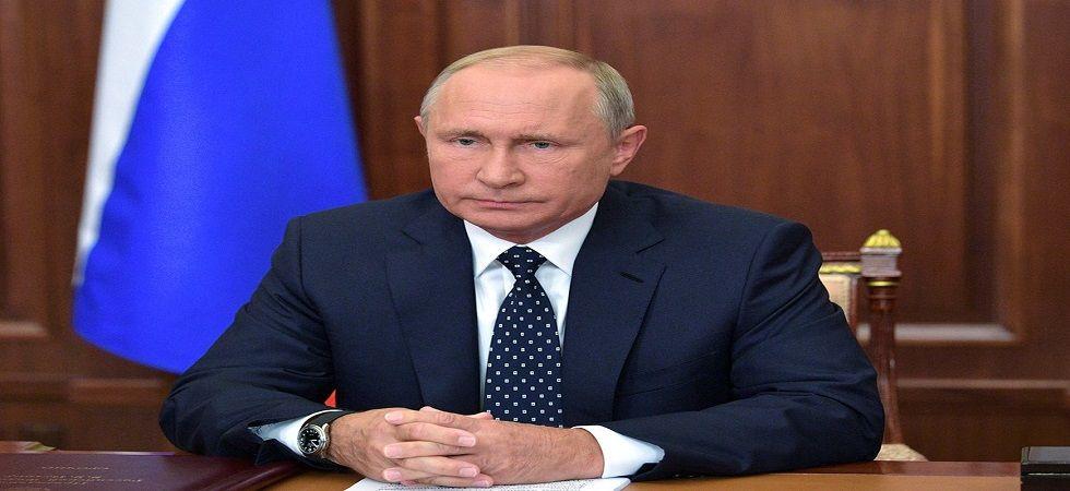 Russian President Vladimir Putin (Photo- Twitter/@KremlinRussia_E)