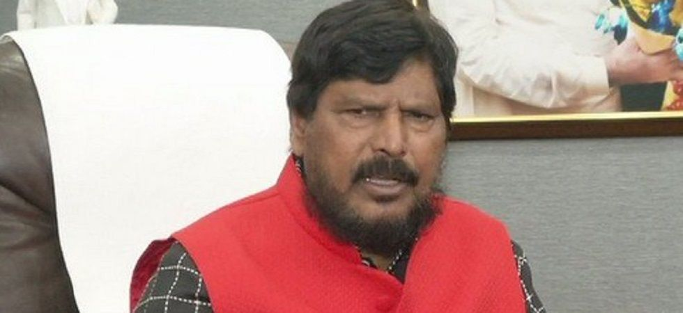 Changes in SC/ST Act won't be reviewed, says Athawale (Photo: Twitter/ANI)