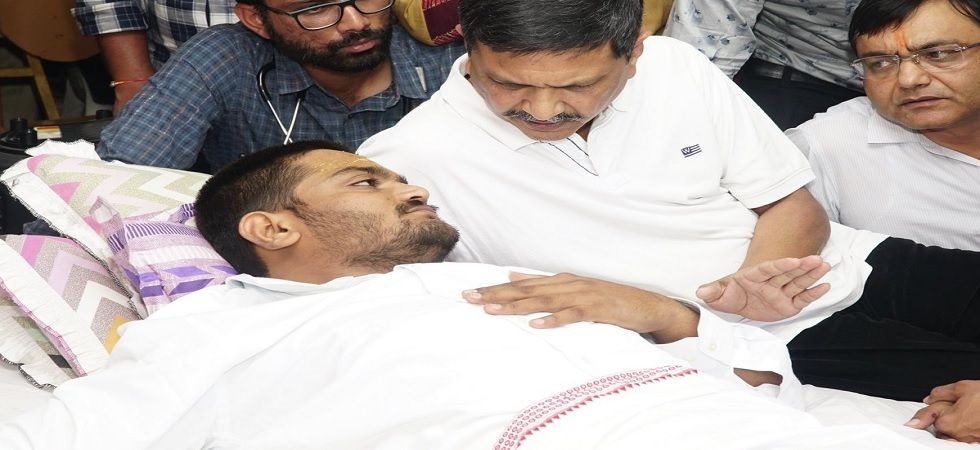 PAAS leader Hardik Patel hospitalised after health deteriorates (Photo: Twitter)