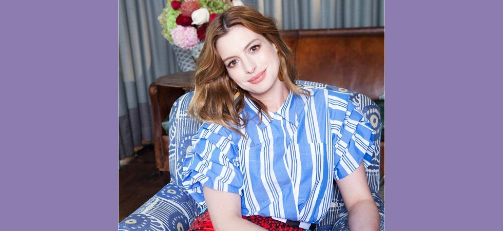 Anne Hathaway to receive Human Rights award (Photo- Twitter/@AHdoingthings)
