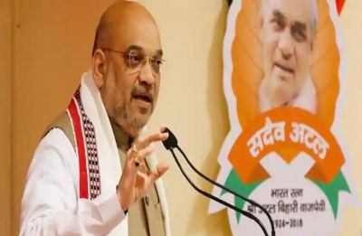 BJP 'making India', Congress 'breaking India', says Amit Shah