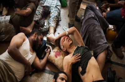 Egypt court sends 75 to death, 47 to life over 2013 protest