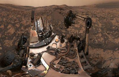 NASA's Curiosity rover sends home 360-degree view of Martian sky