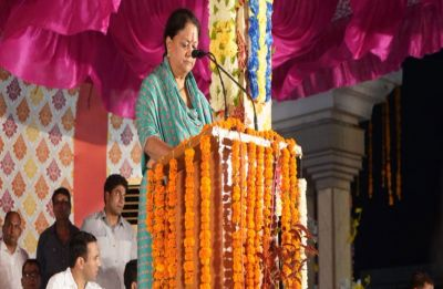 Vasundhara Raje's sop bonanza before elections, slashes vat on petrol, diesel