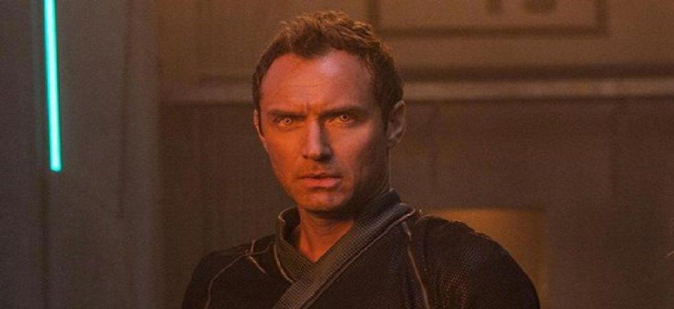 Jude Law plays 'devout warrior' in 'Captain Marvel' (Photo: Twitter)
