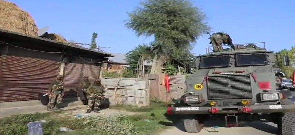 Jammu and Kashmir: Two militants killed in encounter in Handwara (Photo- Twitter/ANI)