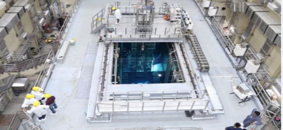 Upgraded research reactor 'Apsara-U' becomes operational (Photo: Twitter)