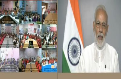 PM Modi interacts with ASHA, ANM and Anganwadi workers, talks of importance of women, children welfare