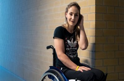 "'I could have died,"" says paralysed Olympic champion Vogel"