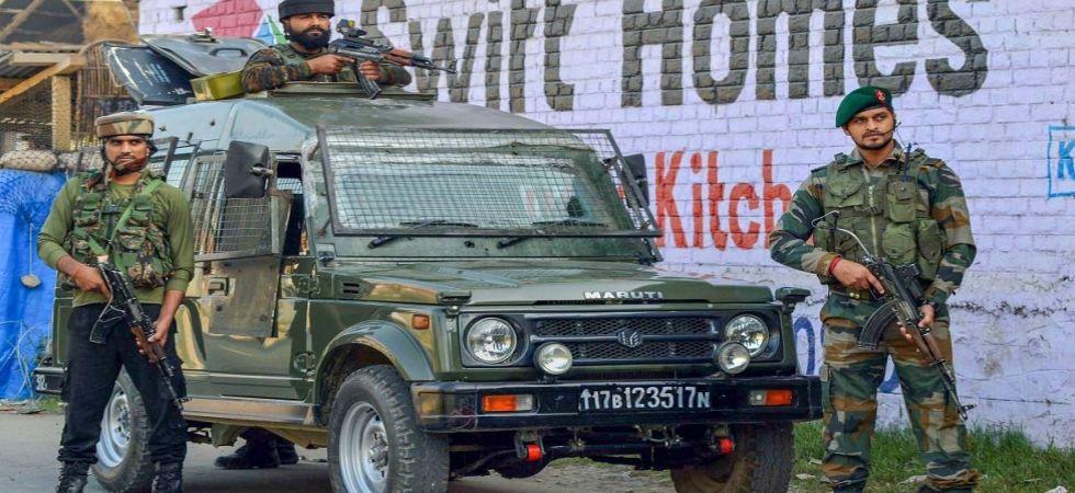 J&K: Encounter underway between security forces, militants in Sopore (File Photo)
