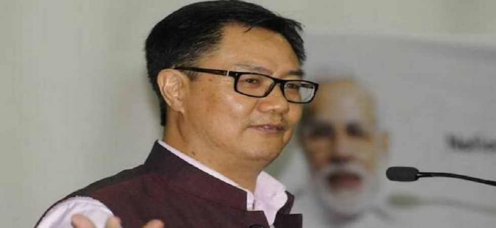 Kiren Rijiju asks police officers to remain calm in tense situations (Photo: PTI)