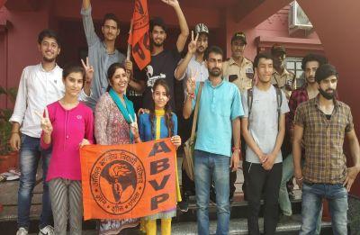 JNUSU Polls: Purported ABVP posters promising ban on short dresses, non-veg food sparks row
