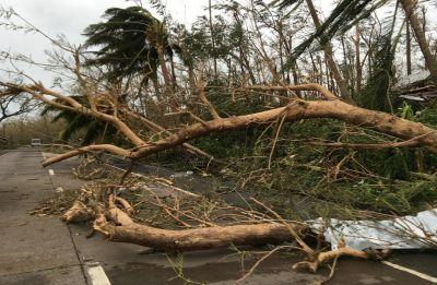 Powerful Typhoon Mangkhut lashes Philippines, killing at least three