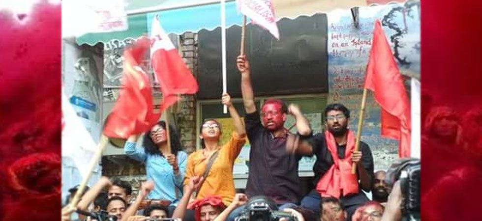 JNUSU Election Results 2018 LIVE: Left Alliance scores massive win (Photo Source: Twitter/@jnu-voice)