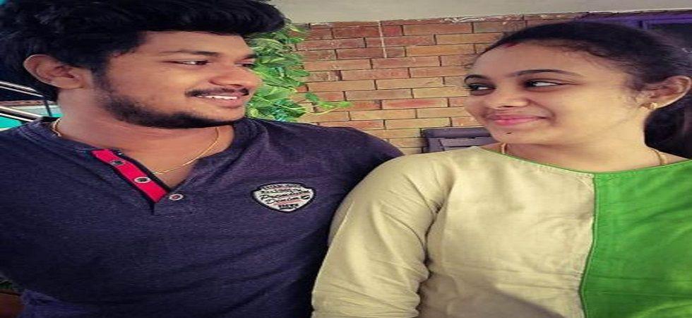 Peramalla Pranay Kumar and Amrutha Varshini.