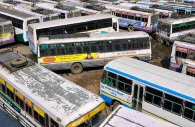 RSRTC employees on strike, over 4,500 buses remain off roads in Rajasthan