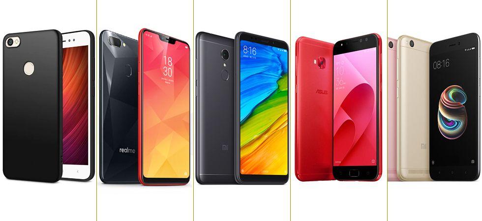 Top five smartphones under Rs 10,000