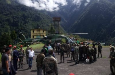 84 stranded people, including tourists, airlifted in Sikkim