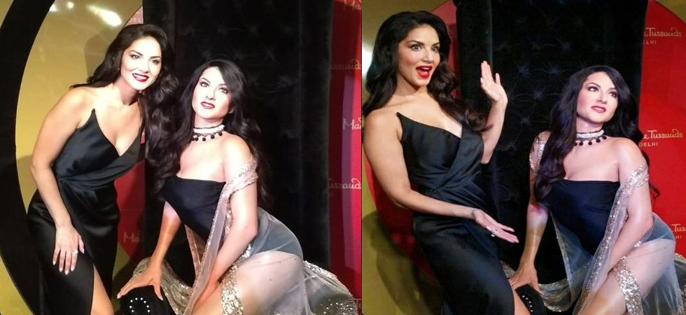 Sunny Leone Wax Statue Unveiled At Delhis Madame Tussauds -3283