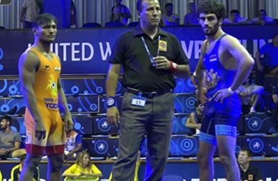 Vijay bags bronze in junior wrestling world championships, two Indians in final