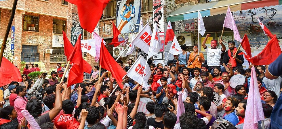JNUSU president hits out at Sitharaman over her statement on varsity (Photo Source: PTI)